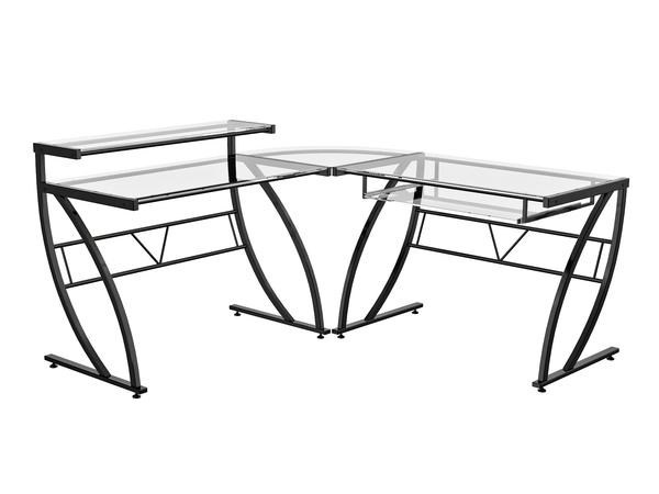 Z-Line Belaire Glass Desk