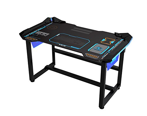 E-BLUE USA WIRELESS GLOWING LED PC GAMING DESK