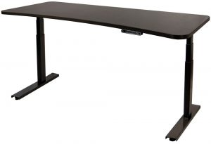 UPDESK: BLACK 3-STAGE LARGE 72.""