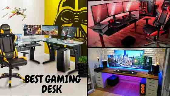 Fine 25 Best Gaming Desks Updated 2019 See This Before You Buy Download Free Architecture Designs Grimeyleaguecom